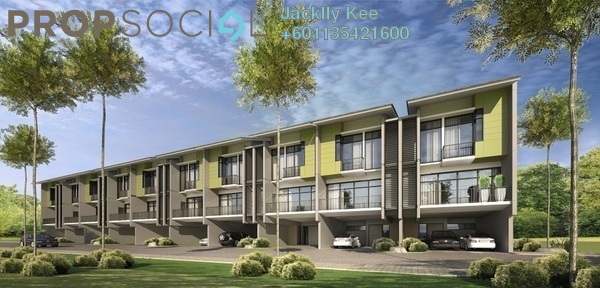 Superlink For Sale in Park Residency, Cheras South Freehold Unfurnished 4R/4B 923k