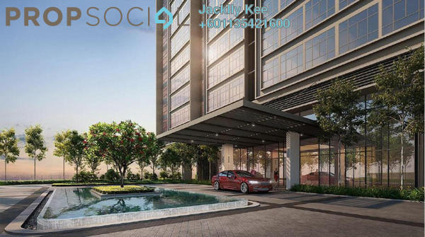 Condominium For Sale in The Maple Residences, Old Klang Road Freehold Semi Furnished 2R/2B 535k
