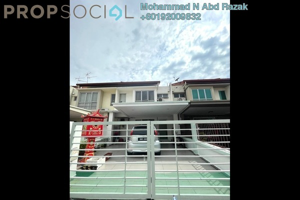 Terrace For Sale in Setia Impian 7, Setia Alam Freehold Unfurnished 4R/3B 680k