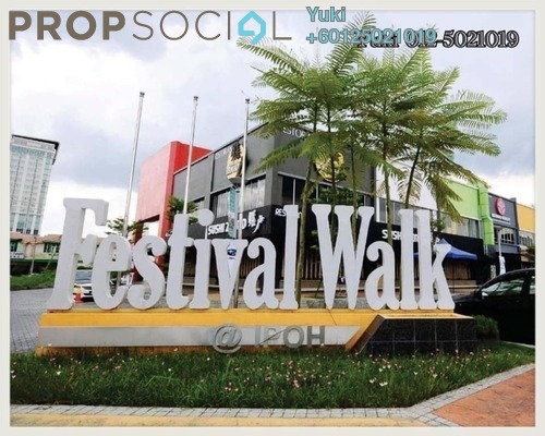 Shop For Sale in Festival Walk, Ipoh Freehold Unfurnished 0R/2B 700k