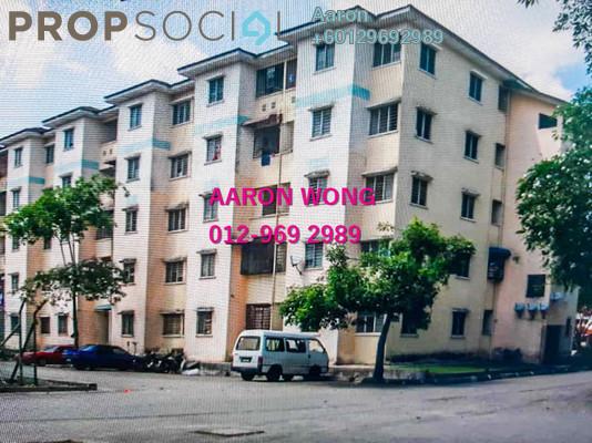 Apartment For Sale in Pangsapuri BBK, Kundang Freehold Semi Furnished 3R/2B 65k