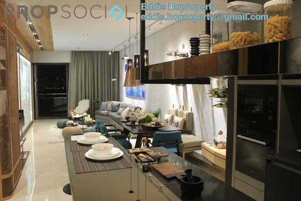 Serviced Residence For Sale in DC Residency, Damansara Heights Freehold Semi Furnished 1R/1B 1.5m