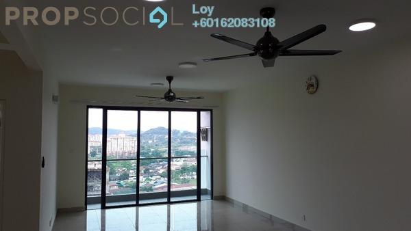 Condominium For Rent in Ascenda Residence @ SkyArena, Setapak Freehold Semi Furnished 3R/2B 1.8k