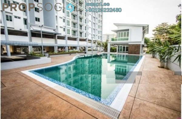 Condominium For Rent in Capri Park, Butterworth Freehold Unfurnished 3R/2B 1.2k