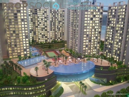 Condominium For Rent in Tropicana Bay Residences, Bayan Indah Freehold Fully Furnished 2R/1B 1.8k