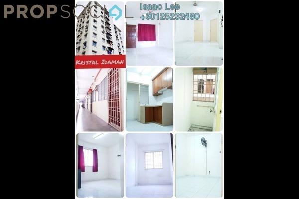 Apartment For Sale in Krystal Idaman, Sungai Nibong Freehold Semi Furnished 3R/1B 217k