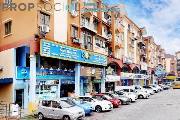 Condominium For Rent in Fortune Court, Bukit Ceylon Freehold Semi Furnished 3R/2B 1k