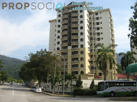 Condominium For Rent in Eden Fairway, Batu Ferringhi Freehold Fully Furnished 3R/3B 1.56k