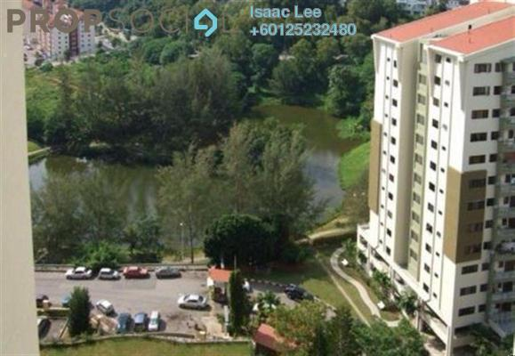 Condominium For Rent in Parkview Towers, Bukit Jambul Freehold Semi Furnished 3R/2B 1.5k