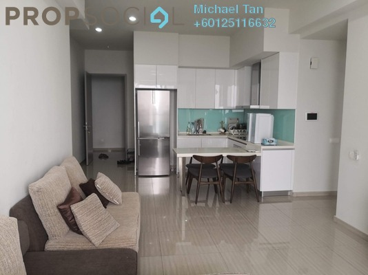 Condominium For Rent in Twin Arkz, Bukit Jalil Freehold Fully Furnished 2R/2B 2.6k