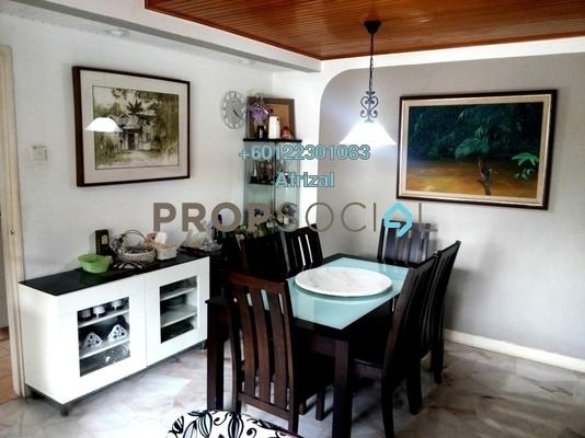Townhouse For Sale in Kiara Green, TTDI Freehold Semi Furnished 3R/3B 840k