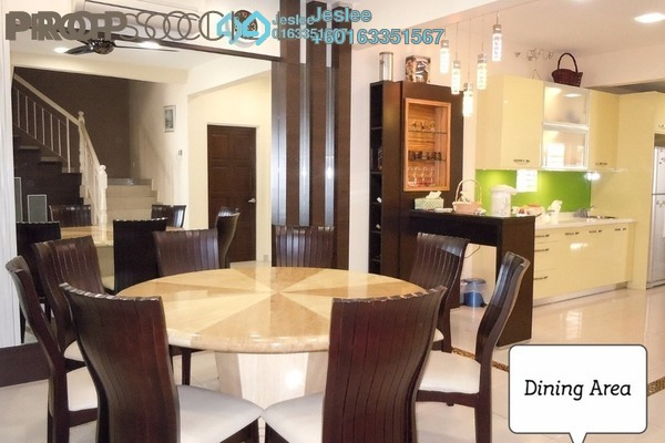 Superlink For Sale in Taman Bukit Cheras, Cheras Freehold Semi Furnished 4R/3B 950k