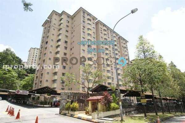 Apartment For Sale in Desa Satu, Kepong Freehold Unfurnished 3R/2B 145k