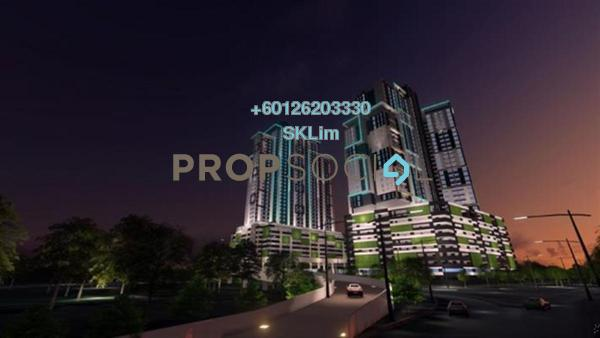 Apartment For Sale in The Residence, TTDI Freehold Unfurnished 3R/2B 530k