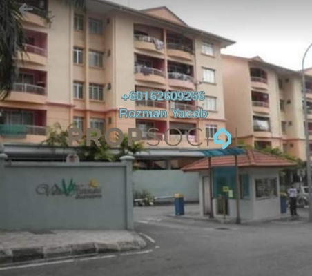 Apartment For Sale in Taman Bukit Cheras, Cheras Freehold Fully Furnished 3R/2B 390k
