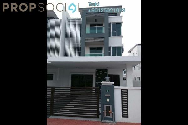 Semi-Detached For Sale in Ridgewood @ Taman Bercham Permai, Ipoh Freehold Semi Furnished 5R/4B 630k