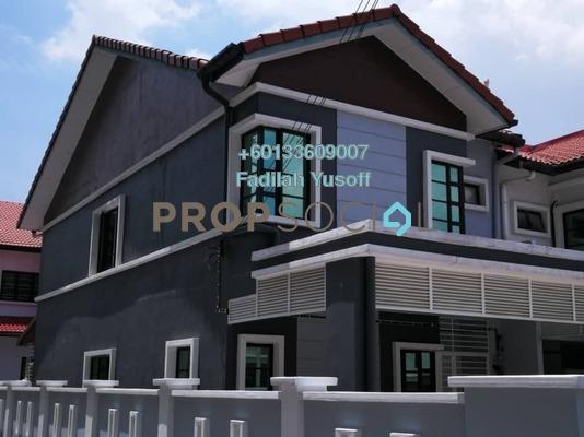 Terrace For Sale in Taman Puncak Saujana, Kajang Freehold Unfurnished 4R/3B 650k