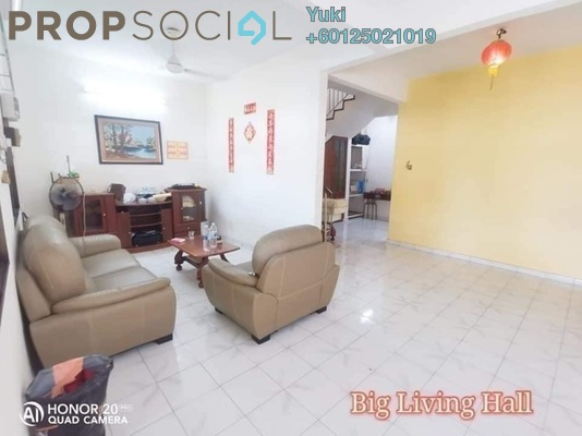Terrace For Sale in Anjung Bercham Megah, Ipoh Leasehold Unfurnished 3R/3B 248k