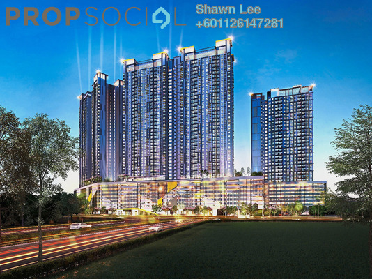Condominium For Sale in PV18 Residence, Setapak Freehold Unfurnished 3R/3B 470k