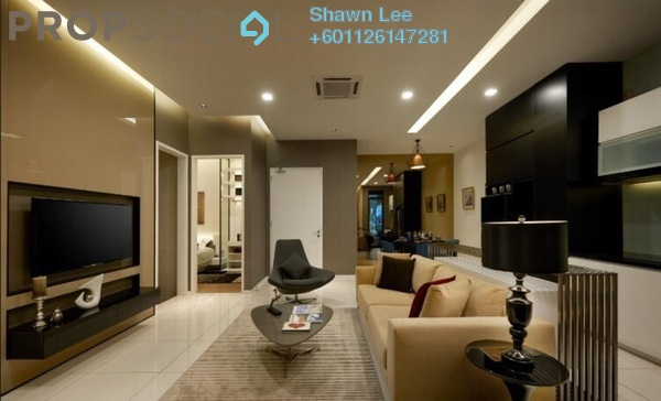 Condominium For Sale in Bennington Residences, Setapak Leasehold Semi Furnished 4R/3B 850k