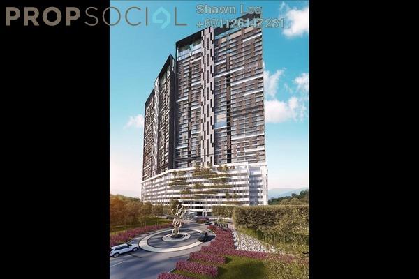 Condominium For Sale in Bennington Residences, Setapak Freehold Semi Furnished 4R/2B 669k