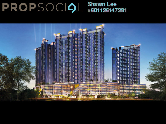 Condominium For Sale in PV18 Residence, Setapak Leasehold Unfurnished 3R/2B 430k