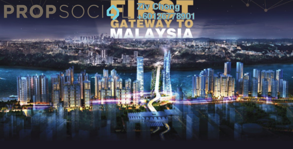 Condominium For Sale in R&F Princess Cove, Johor Bahru Freehold Fully Furnished 1R/1B 832k