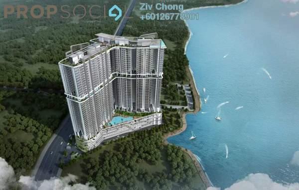 Serviced Residence For Sale in Sovereign Bay, Bandar Baru Permas Jaya Freehold Unfurnished 1R/1B 516k