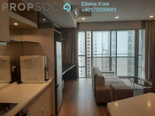 Condominium For Sale in VERVE Suites, Mont Kiara Freehold Fully Furnished 2R/2B 880k