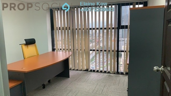Office For Rent in Plaza 138, KLCC Freehold Fully Furnished 0R/0B 2.3k