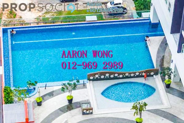 Serviced Residence For Rent in De Centrum Residences, Kajang Freehold Semi Furnished 2R/2B 1.2k