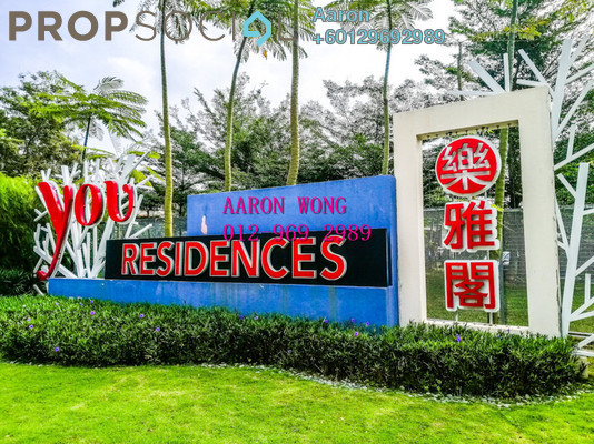 Condominium For Sale in You Residences @ You City, Batu 9 Cheras Freehold Semi Furnished 3R/2B 528k