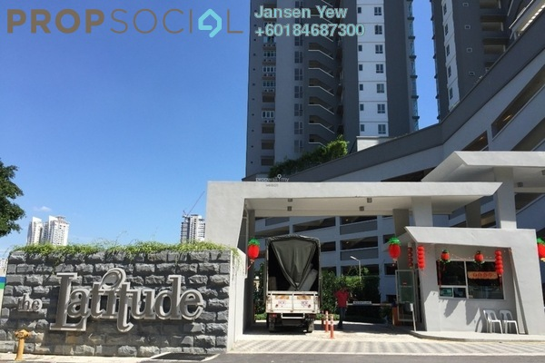 Condominium For Sale in The Latitude, Tanjung Tokong Freehold Semi Furnished 4R/4B 950k
