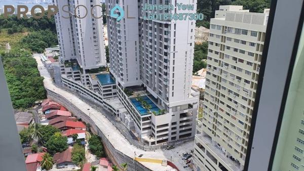 Apartment For Sale in Taman Bukit Erskine, Tanjung Tokong Freehold Semi Furnished 3R/2B 280k