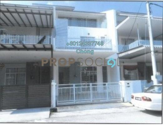 Terrace For Sale in Taman Bukit Minyak, Bukit Minyak Freehold Unfurnished 4R/4B 504k