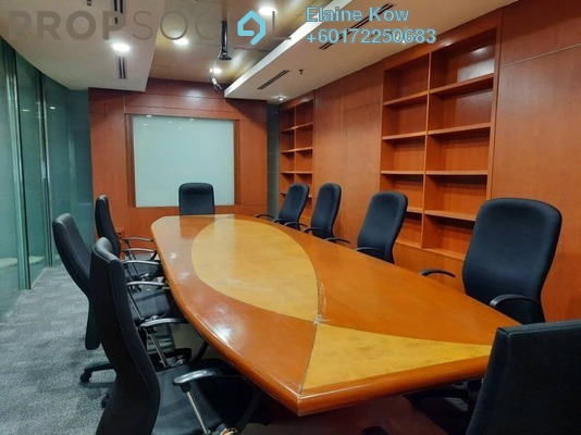 Office For Rent in Plaza Mont Kiara, Mont Kiara Freehold Fully Furnished 0R/0B 12k