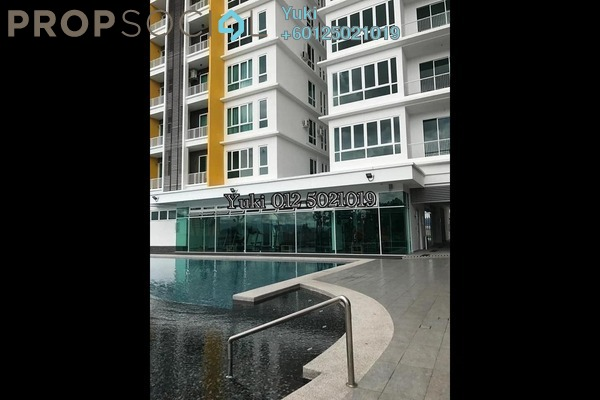 Condominium For Sale in D'Festivo Residences, Ipoh Freehold Unfurnished 3R/2B 608k