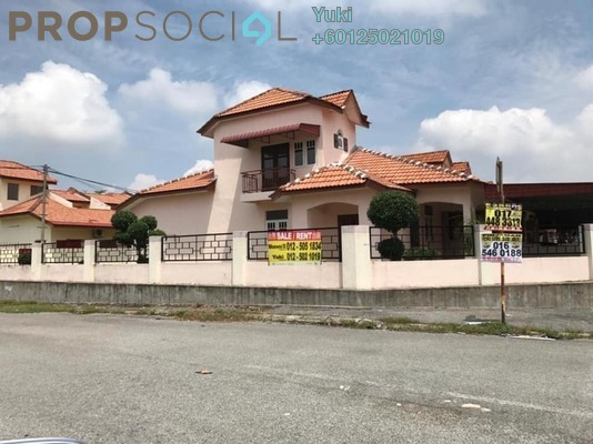 Terrace For Sale in Panorama Lapangan Perdana, Ipoh Freehold Semi Furnished 4R/3B 360k