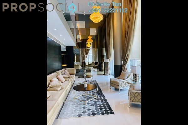 Duplex For Sale in One KL, KLCC Freehold Fully Furnished 2R/3B 4.25m