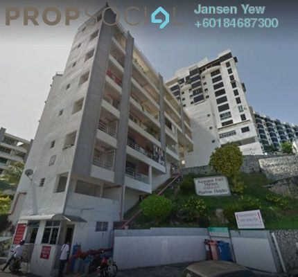 Condominium For Sale in Pearlvue Heights, Tanjung Tokong Freehold Semi Furnished 3R/2B 320k