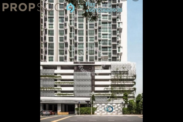 Serviced Residence For Sale in H2O Residences, Ara Damansara Freehold Fully Furnished 1R/1B 410k