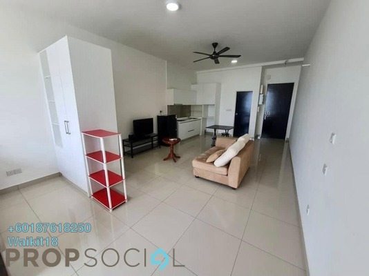Condominium For Rent in Twin Galaxy, Johor Bahru Freehold Fully Furnished 0R/1B 1k