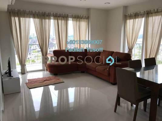 Condominium For Sale in Verdi Eco-dominiums, Cyberjaya Freehold Unfurnished 3R/3B 665k