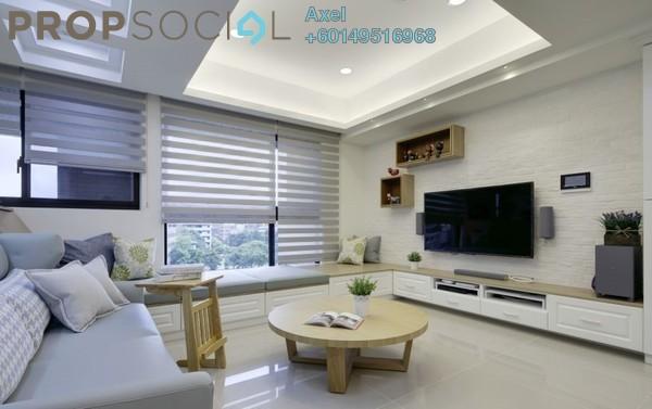 Condominium For Sale in Taman City, Jalan Kuching Leasehold Semi Furnished 4R/3B 629k