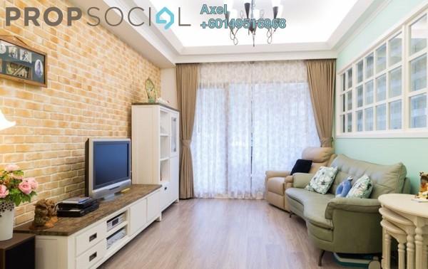 Condominium For Sale in Mont Kiara Aman, Mont Kiara Freehold Semi Furnished 4R/3B 649k
