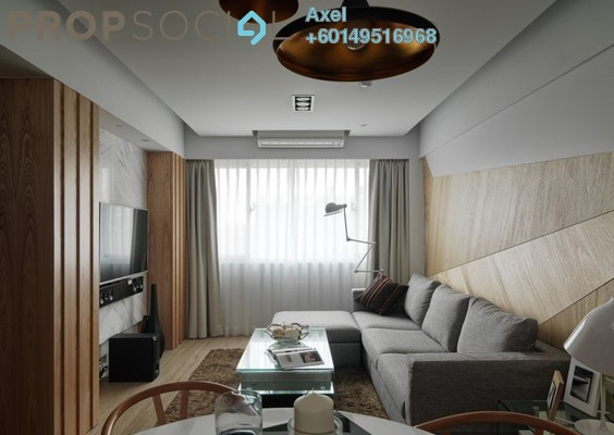 Condominium For Sale in Solaris Dutamas, Dutamas Freehold Semi Furnished 3R/3B 639k
