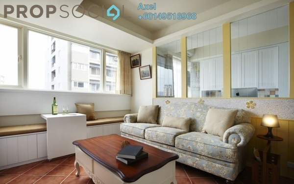 Condominium For Sale in Mont Kiara Damai, Mont Kiara Freehold Semi Furnished 4R/3B 649k