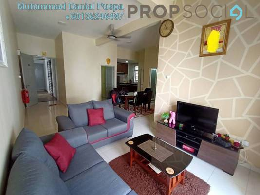 Apartment For Sale in Citra Embun @ Citra Hill 2, Mantin Freehold Semi Furnished 3R/2B 335k