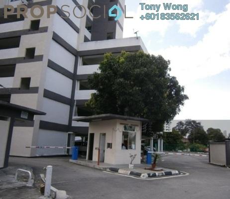 Condominium For Sale in Halaman Kristal, Green Lane Freehold Unfurnished 3R/2B 295k