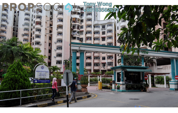 Condominium For Sale in Jade View, Bukit Gambier Freehold Fully Furnished 3R/2B 350k